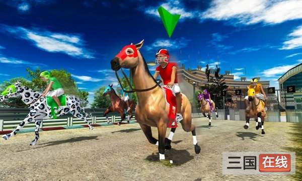 Horse Racing 3D: Multiplayer