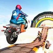 Sports Bike Stunts