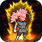 pixel fighter dragon power