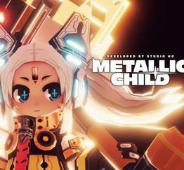 metallic child